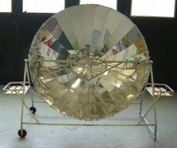 Solarkocher vorne