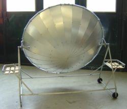 Solarkocher hinten